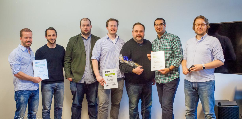 Die Rheinland-Pitch Gewinner vom 27.03.2017 in Köln